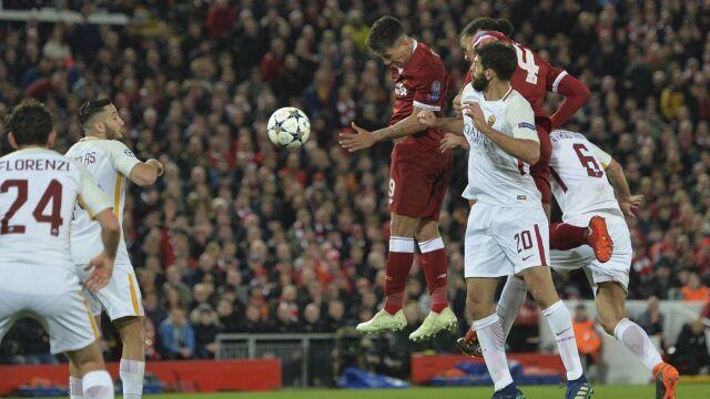 Siedem goli w półfinale. Liverpool zraniłRomę, ta i tak siępodniosła
