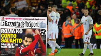 Włosi wciąż wierzą w awans Romy.