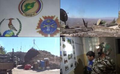 Syryjscy rebelianci w tajnej bazie GRU