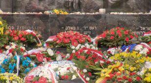 Hołd dla bohaterów. Uroczyste obchody 75. rocznicy powstania w getcie