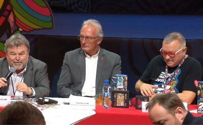 Miszczak wziął udział w konferencji przed 27. Finałem WOŚP