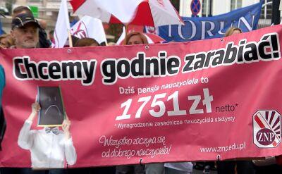 Związki nauczycielskie grożą strajkiem