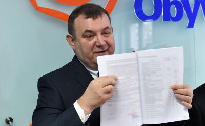 Gawłowski: w raporcie CBA nie stwierdzono nieprawidłowości w moich oświadczeniach majątkowych
