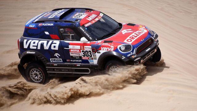 Przygoński trzeci na trzecim etapie. Jest nowy lider Rajdu Dakar