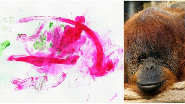 Raja namalowała obraz, trafił na aukcję WOŚP.