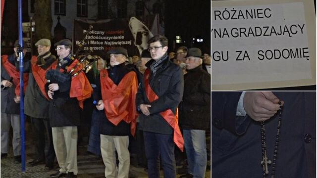 Różaniec za odnowę moralną Słupska i jego prezydenta