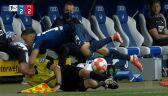 Piłkarz Hoffenheimu wpadł na sędziego liniowego