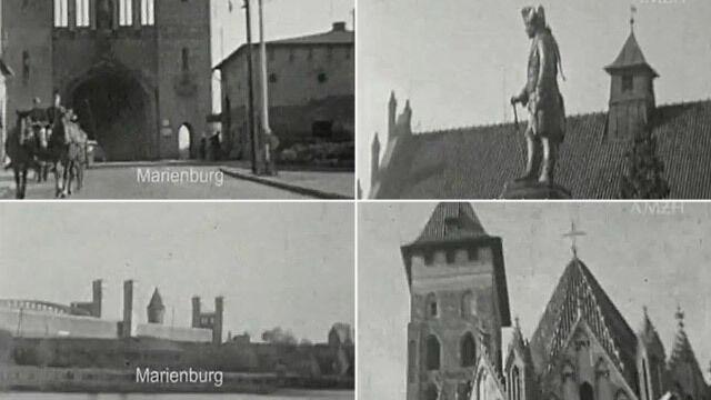 Malbork na filmie żołnierza Wehrmachtu