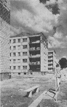 Blok nr 50. Pierwszy dom oddany do użytku na Ratajach 30 grudnia 1967 r.