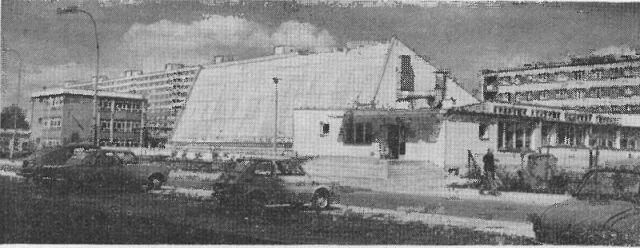 Pływalnia kryta na os. Piastowskim - sierpień 1976 r.