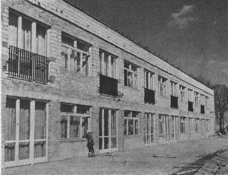 Żłobek Dzielnicowy Nr 1 oddany do użytku w lutym 1969 r. na os. Piastowskie 81
