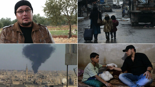 Stracił córkę, był ranny, więziony i torturowany. Wstrząsające nagrania z wojny w Aleppo