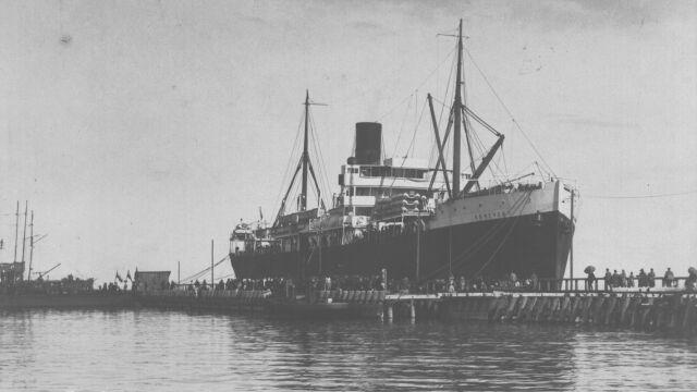 Pierwszy taki statek w Gdyni. 90 lat minęło
