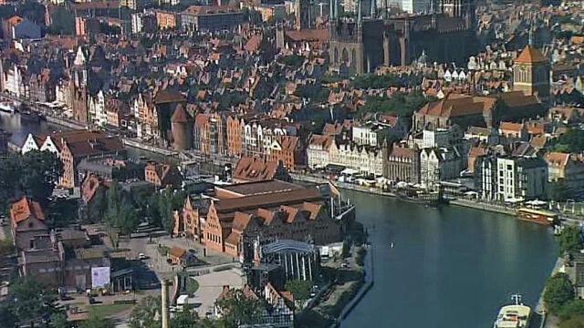 Spojrzeli na Gdańsk z góry. Atrakcje miasta z pokładu Błękitnego 24