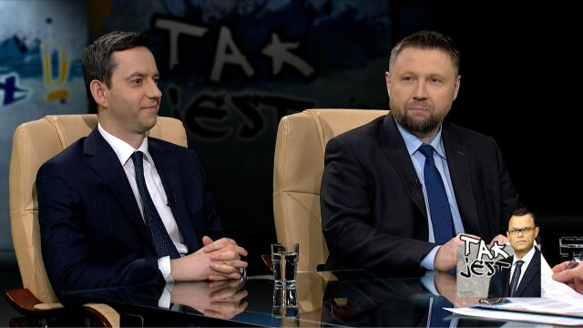 Marcin Kierwiński i Marcin Ociepa w Tak jest
