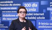 Anna Zalewska apeluje do nauczycieli