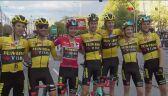 Primoz Roglić cieszy się z triumfu we Vuelta a Espana 2020