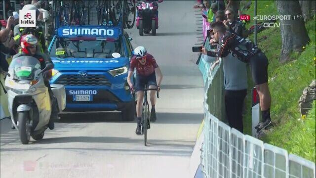 Daniel Martin wygrał 17. etap Giro d'Italia