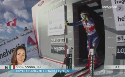Goggia wygrała supergigant w St. Moritz