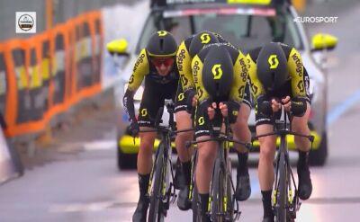 Mitchelton-Scott wygrywa 1. etap Tirreno-Adriatico