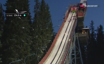 Pożegnalny skok Andreasa Stjernena