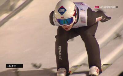 Drugi skok Kamila Stocha w Lillehammer