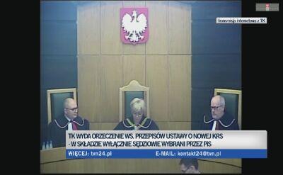 Wyrok ws. nowej KRS odroczony do 25 marca