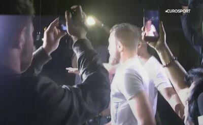 McGregor wypuszczony z aresztu