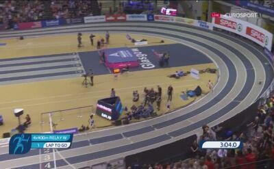 Polskie biegaczki znów złote w sztafecie 4x400 metrów