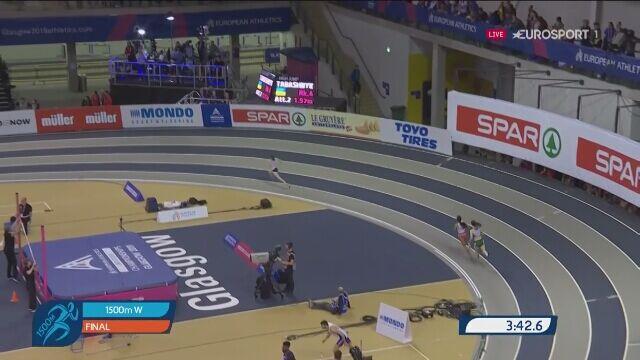 Sofia Ennaoui wywalczyła srebrny medal w biegu na 1500 metrów