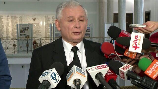Kaczyński o rządzie: Wszystko jest zlepione brudem
