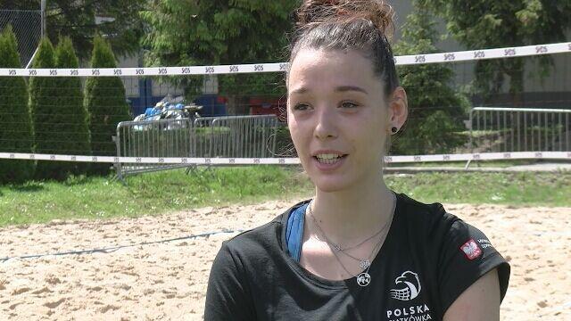 Zuzanna Górecka trenuje w Szczyrku
