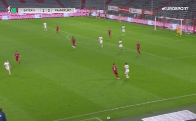 Półfinał Pucharu Niemiec. Skrót  meczu Bayern - Eintracht