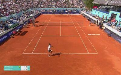 Grigor Dimitrow pokonał Dusana Lajovicia w meczu Adria Tour