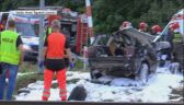 Akcja ratunkowa w pobliżu Łobza (wideo bez dźwięku)