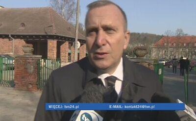 Schetyna: słowa Macierewicz to ohydne kłamstwa
