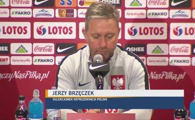 Brzęczek: mieliśmy plan na mecz ze Słowenią