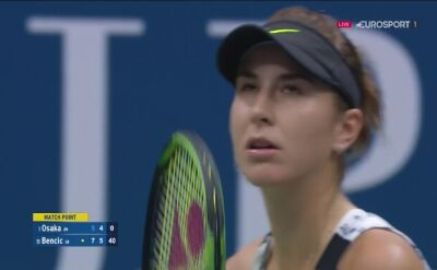 Belinda Bencic w ćwierćfinale US Open