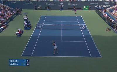 Skrót meczu Belinda Bencic - Donna Vekic