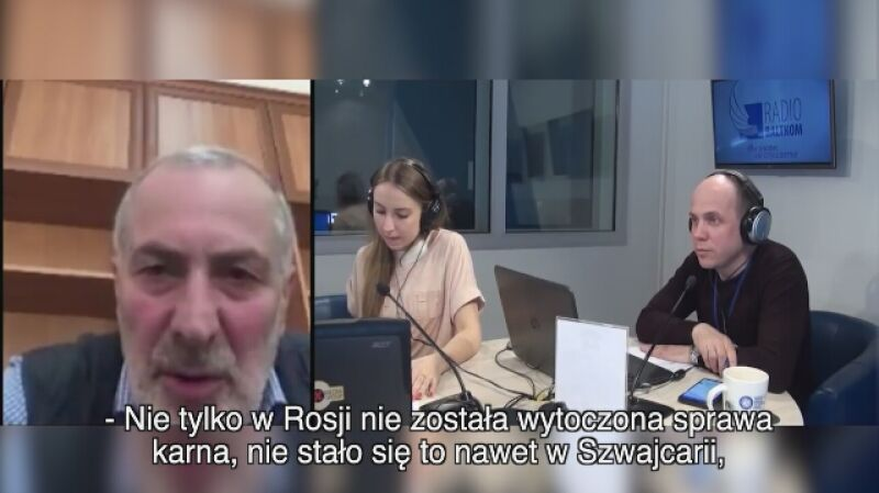 Witalij Kałojew o śledztwie w sprawie katastrofy tupolewa w 2002 roku