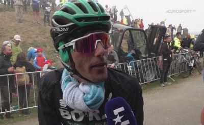 Rafał Majka po 16. etapie Vuelta a Espana
