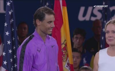 Przemowa Rafaela Nadala po wygranym finale US Open 2019