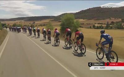 Najważniejsze wydarzenia szalonego 17. etapu Vuelta a Espana