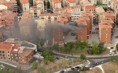 Helikopter na Vuelcie tym razem namierzył pożar
