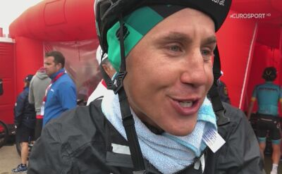 Paweł Poljański po 16. etapie Vuelta a Espana