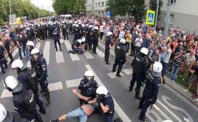 Białystok. Marsz Równości, próby zakłócenia i interwencje policji