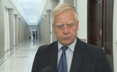 Senator Bobko: mieliśmy kiedyś w historii Sejm niemy, dzisiaj mamy niemego marszałka Sejmu