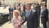 Ursula Von der Leyen spotkała się z chorwackim premierem Andrejem Plenkoviciem