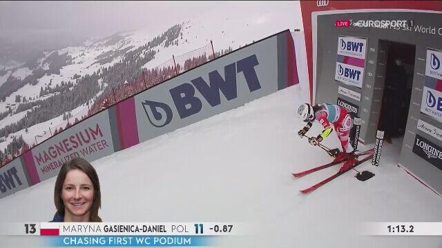 Ostatni w sezonie przejazd giganta Maryny Gąsienicy-Daniel