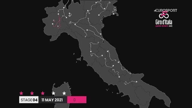Skrót 4. etapu Giro d'Italia